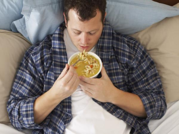 Essen Sie bei Krankheit keine…
