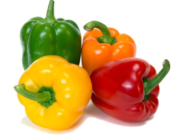 Paprika, Pflaumen und Spinat für den Herbststart