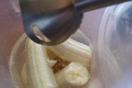 Bananen-Smoothie mit Honig, der Halskrankheiten in Rekordzeit heilt